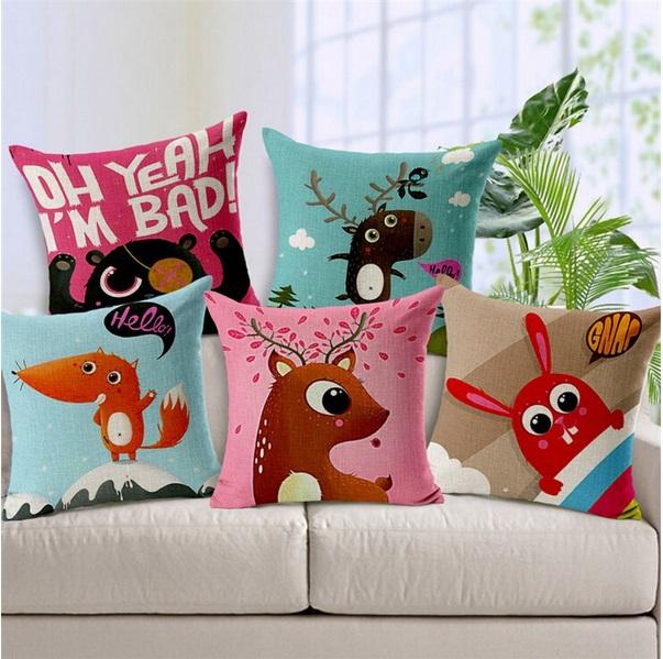 Декоративные подушки для детей