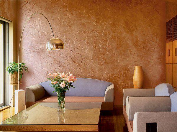 Декоротивная отделка стен под покраску