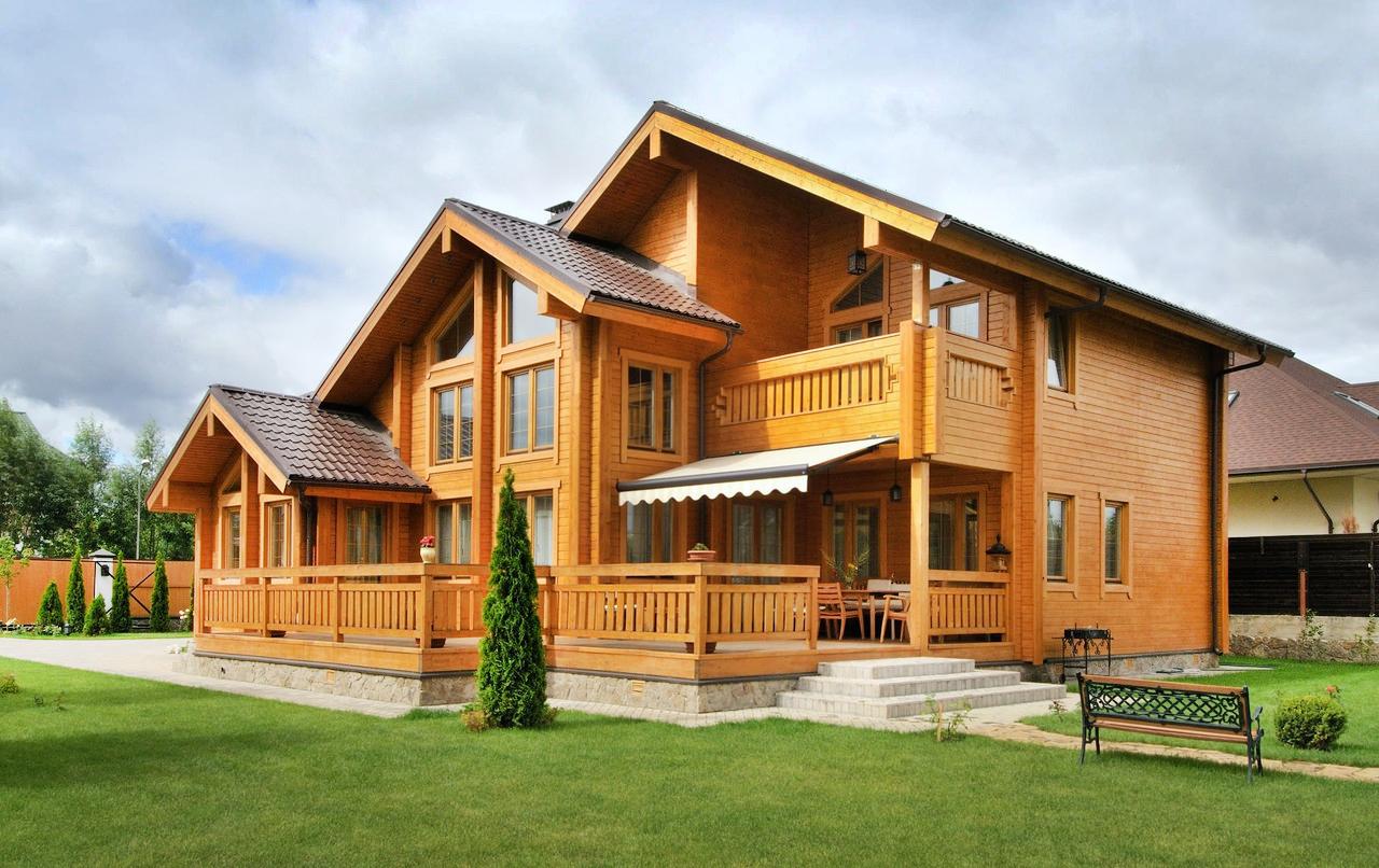 Дом из клееного бруса - как построить