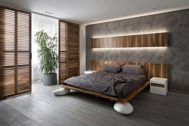 интерьер спальни фото в современном стиле