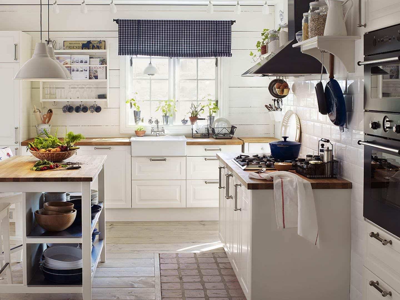 Дизайн кухни кантри