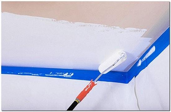 Аккуратная покраска при помощи малярного скотча