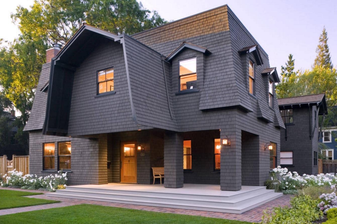 Как устроены мансардные крыши?