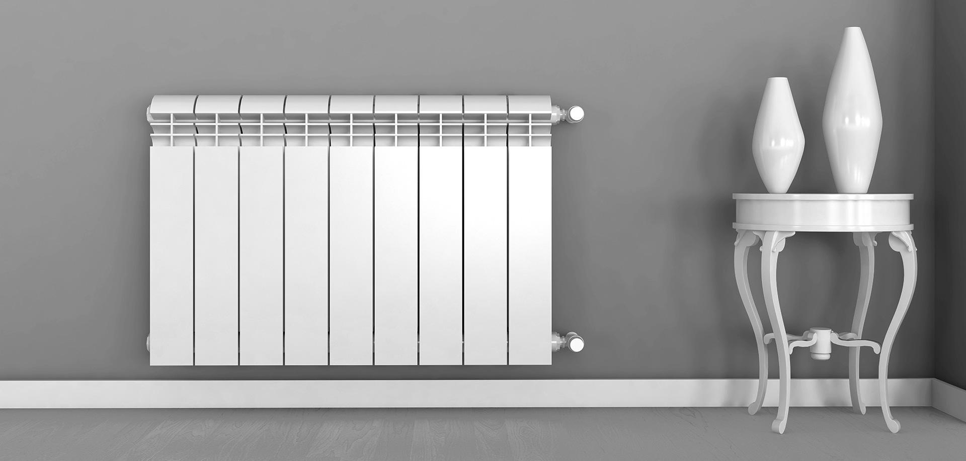 Секционные радиаторы из алюминия