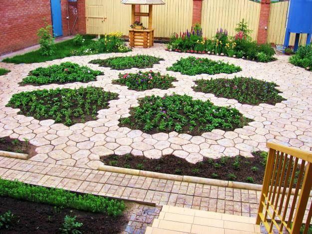 садовая дорожка своими руками