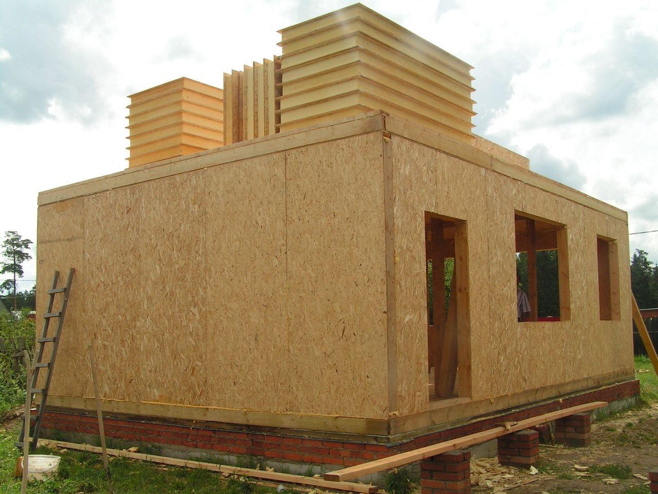 сэндвич-панели в строительстве дома