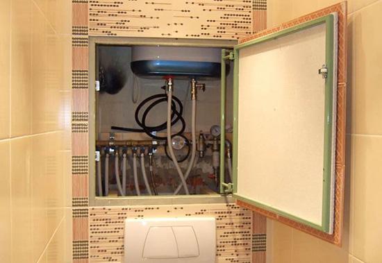 Советы по маскировке труб в туалете