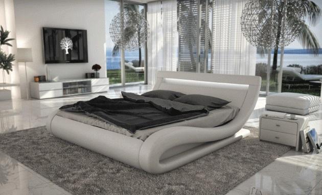 Современная спальня в стильном исполнении
