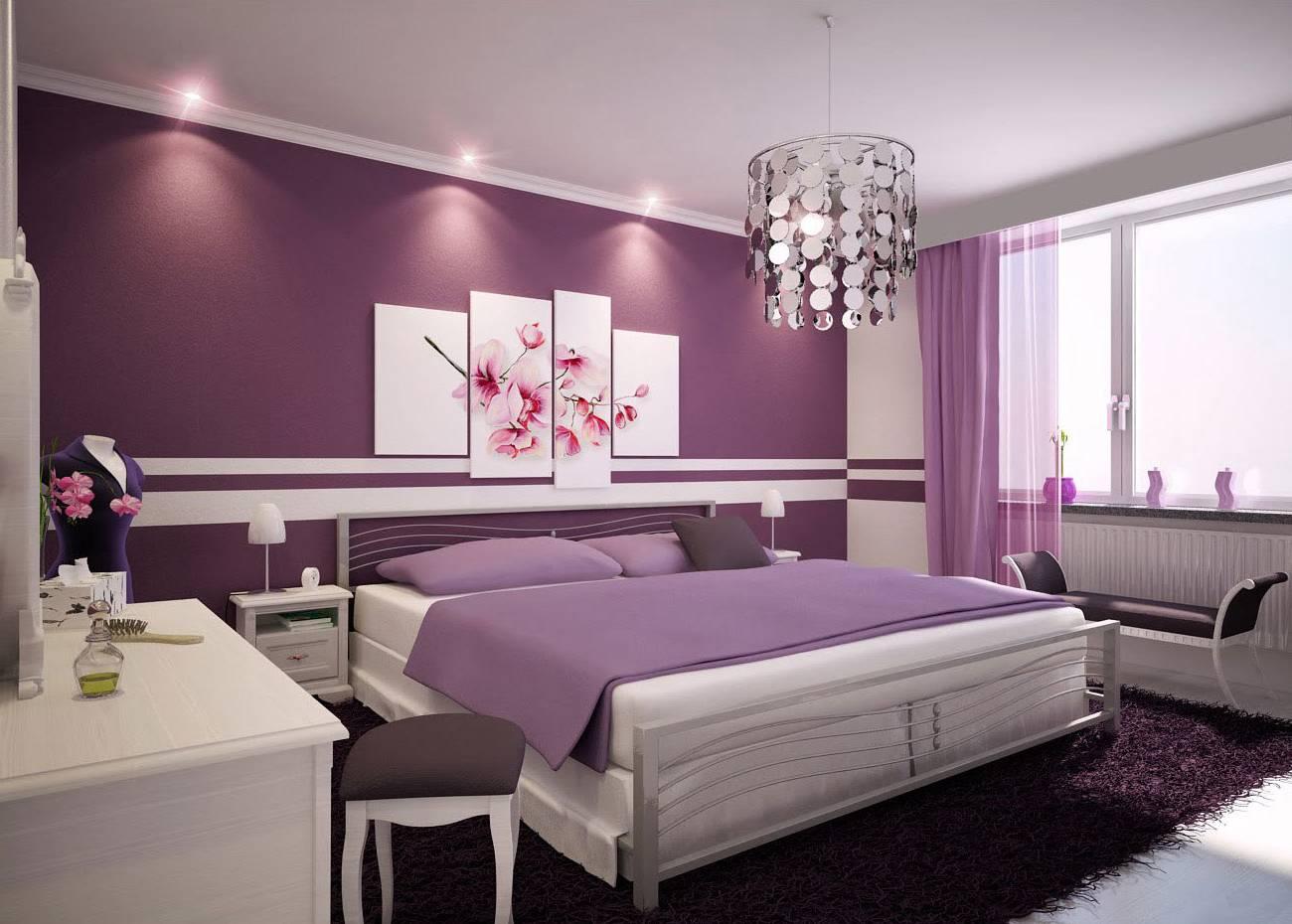 интерьер спальни фото в современном стиле Комната с черными акцентами