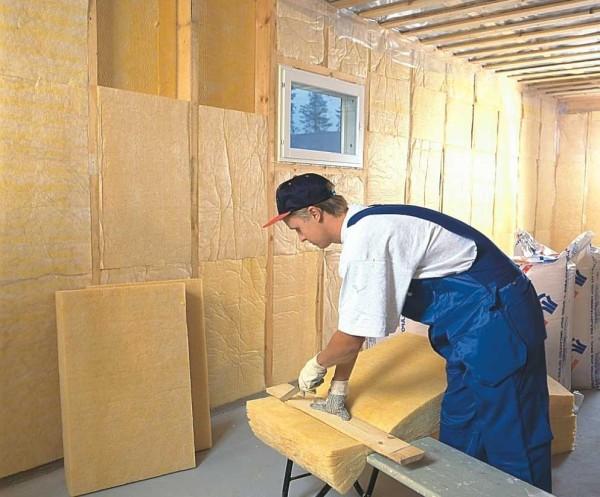 Теплоизоляция стен внутри дома