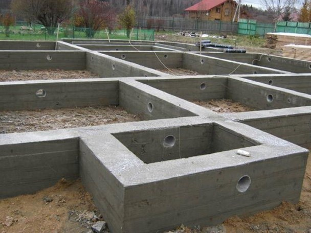 Вентиляция фундамента на этапе строительства