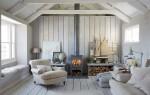 Cкандинавский стиль в интерьере загородного дома