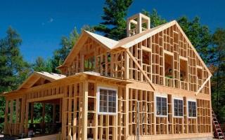 Как построить каркасный дом своими руками