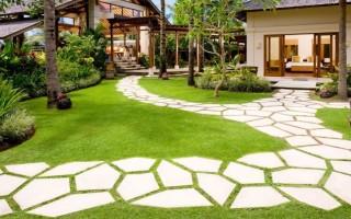 Садовая дорожка своими руками с малыми затратами
