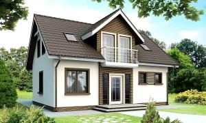 Дизайн дома с мансардой, интерьер, экстерьер и кровля