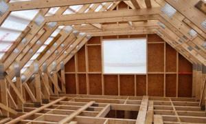 Конструкция мансардной крыши — чертежи и фото