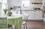 Кухня в стиле кантри — фотографии интерьера