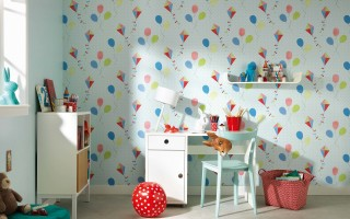 Как подобрать обои в детскую комнату