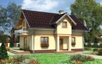 Примеры плана дома с мансардой