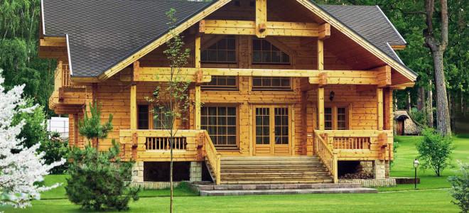 Какие бывают деревянные дома