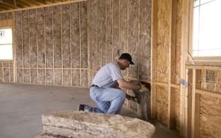 Утепление стен частного дома изнутри