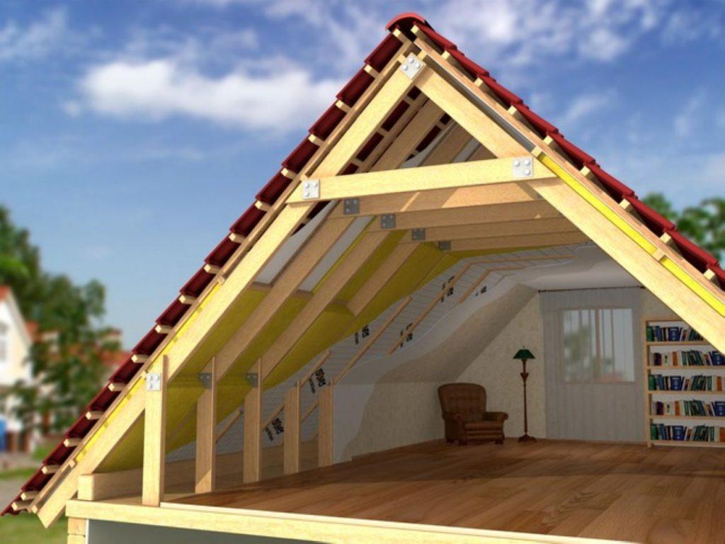 какие бывают крыши частных домов фото временем
